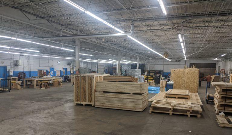 Total Export production floor